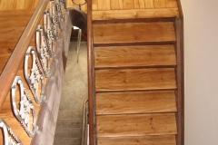 Renovierte Treppe , geölt (1)