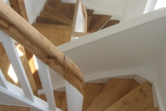 Renovierte Treppenanlage, geölt
